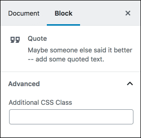 Add custom css class, Gutendev, Gutenberg