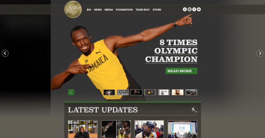 Usain Bolt | Gutendev | WordPress websites with Gutendev | New WordPress | WordPress Tutorials | Plugins WordPress