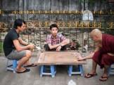 Spiel mit Mönch
