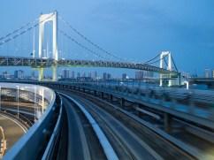 Tokyo in Blau