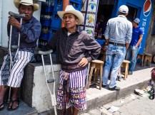 Traditionelle Maya-Männer