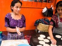 Tortilla-Frauen