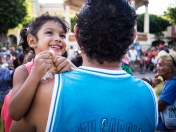 Volksfest in Granada, Nicaragua