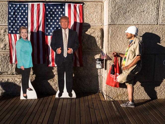 Kandidaten aus Pappe