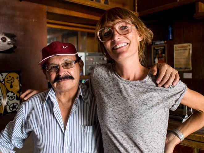 Moni und der charmante Peruaner.