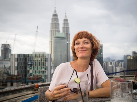 Dank Tipp von Freunden gefunden: Helipad-Lounge in Kuala Lumpur
