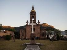 Missionskirche in Jalpan.
