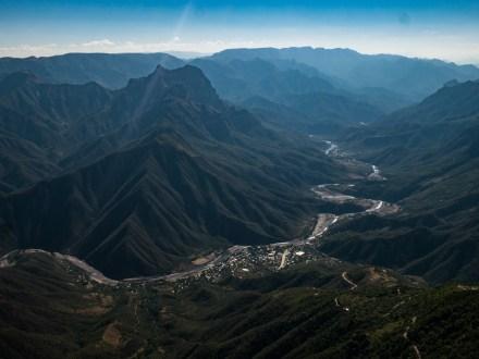 Urique - ein Dorf 1800 Meter tief in der Schlucht.