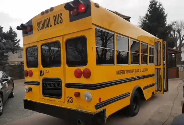 Retro School Bus