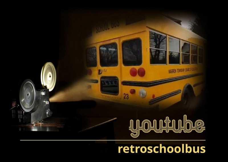 retro school bus