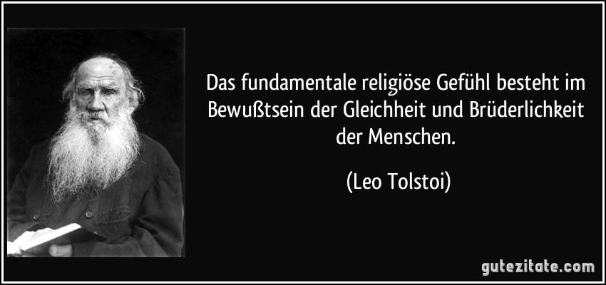 Das Fundamentale Religiose Gefuhl Besteht Im Bewustsein Der