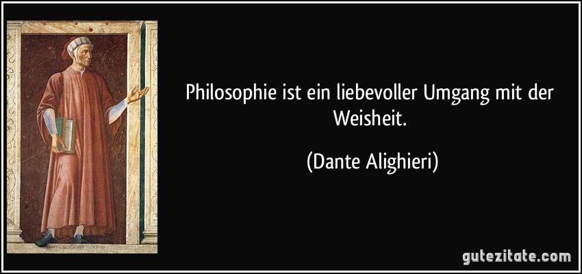 Philosophie Ist Ein Liebevoller Umgang Mit Der Weisheit