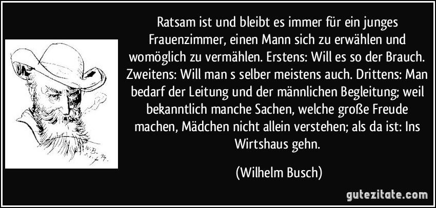 Zitat Leben Wilhelm Busch