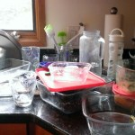 More kitchen mess