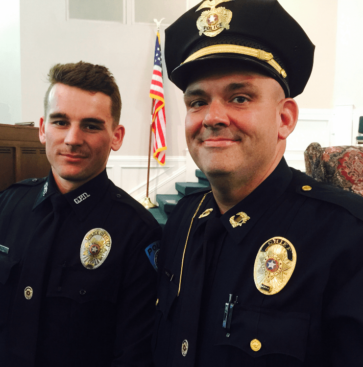 Six officers graduate CLEET; three officers with GPD | Guthrie News Page