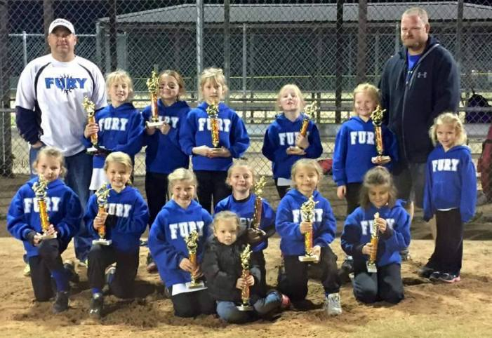 Fury finishes fall softball season on a high note
