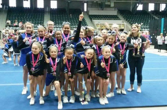 Guthrie Youth Cheer shines in Tulsa Showdown Competition
