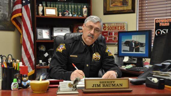 Retirement party set for Sheriff Jim Bauman