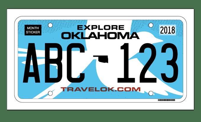 Gov. Fallin, state agencies reveal new license plate design