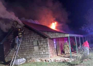 Mulhall home fills up with smoke