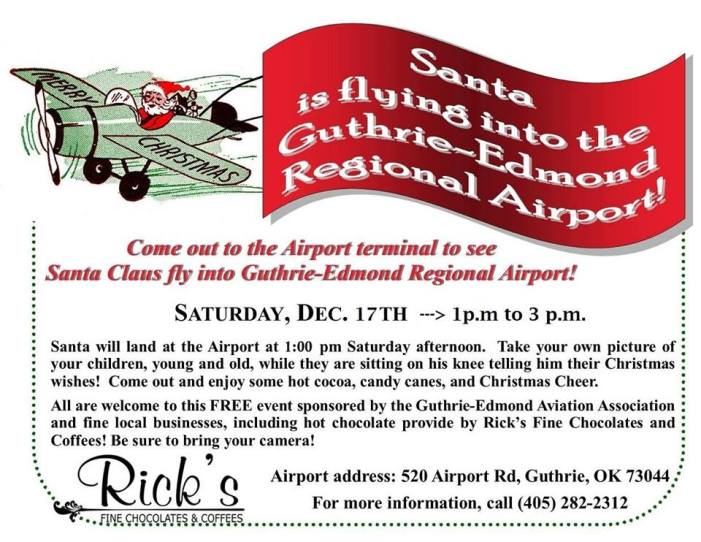 Alternate plan in place, if needed, for Santa Fly-In
