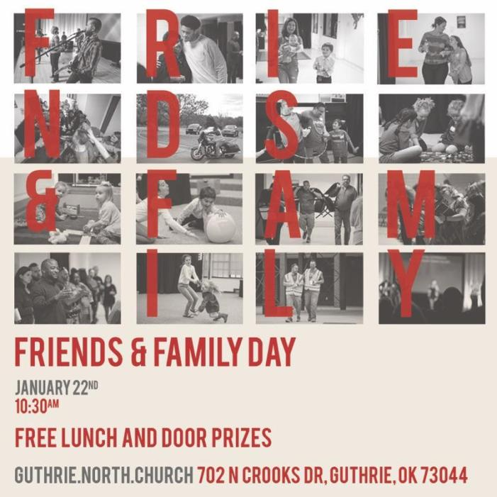 NORTHCHURCH Guthrie hosting Friends & Family Day; RSVP today