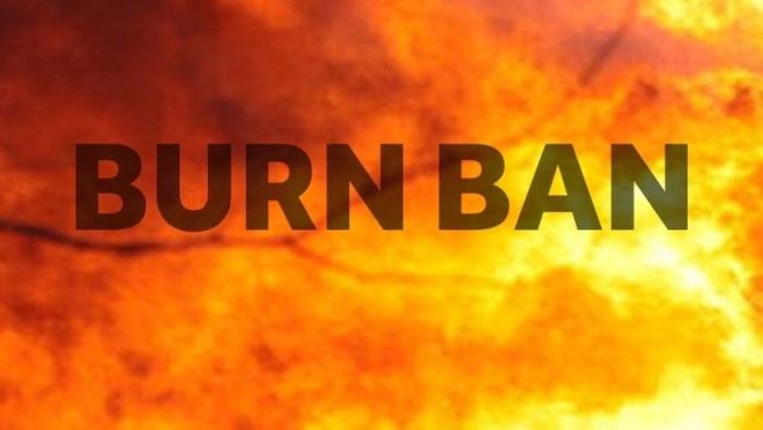 Logan County under county-wide burn ban