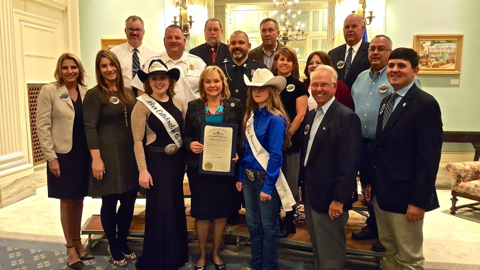 Guthrie officially the city of '89er Celebration; Governor signs proclamation