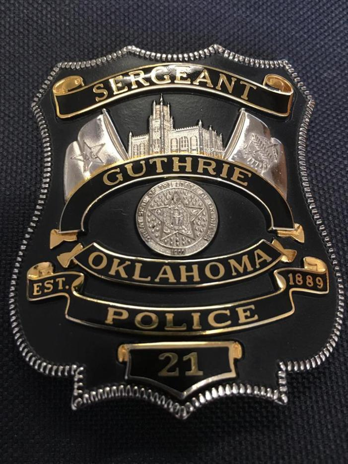 Meet and greet Guthrie police officers at McDonalds on Tuesday morning