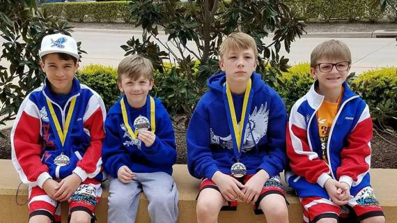 Bluejay Pride Wrestlers attend national tournament