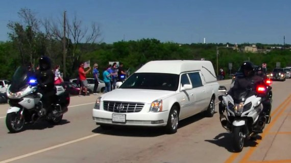 Fallen LCSO deputy given a hero's goodbye