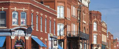 Guthrie voted Most Beautiful Small Town by magazine readers