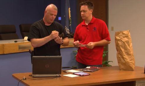 GPD detective helps raise over $5,000 for deputy's family