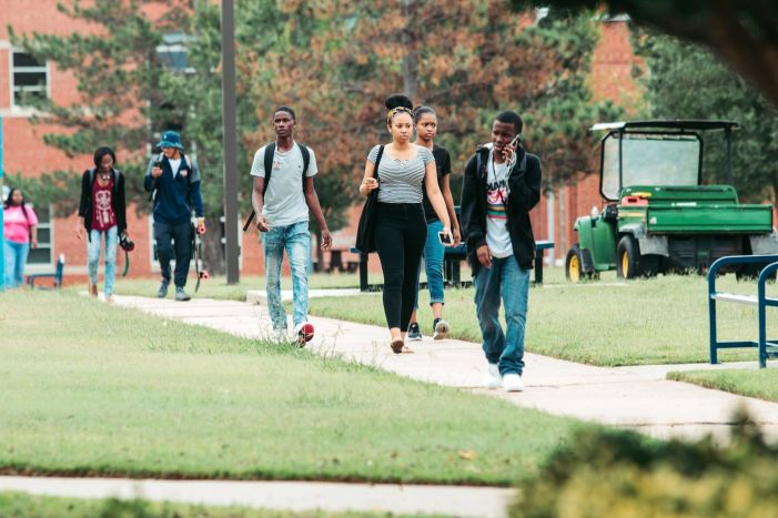 Langston University welcomes back students; fourth consecutive year of record freshmen enrollment