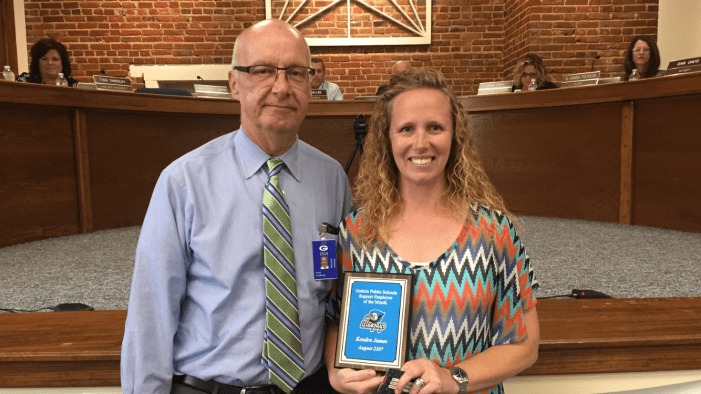 GPS honors Kendra James as Support Employee of the Month
