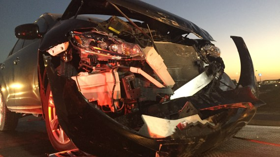 Deputy involved in two vehicle accident on Hwy 33