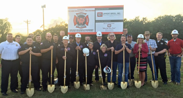 Woodcrest expanding with new fire station; groundbreaking ceremony held