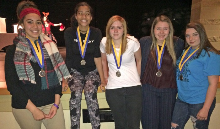 GHS drama team earns medals; advances to regionals