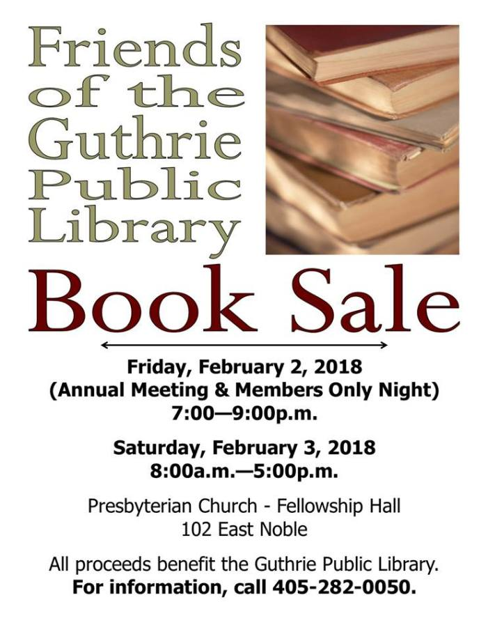 Annual book sale on Saturday to benefit local library