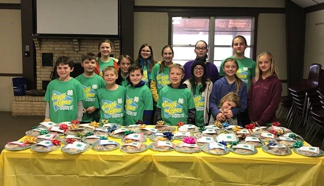 South Logan County 4–H Club participates in Random Acts of Kindness Month