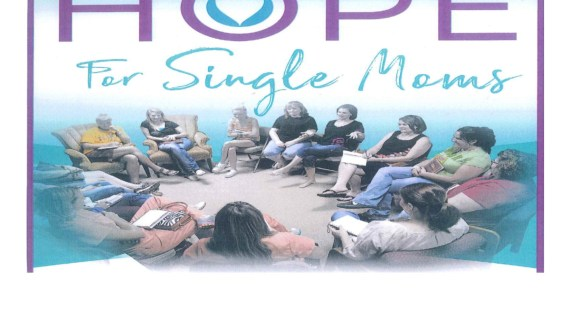 Hope for Single Mom's support group meeting June 23
