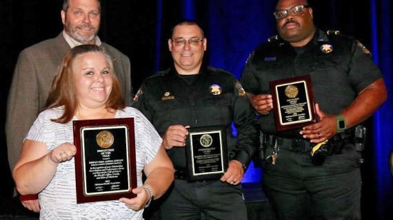 Sheriff Damon Devereaux named Sheriff of the Year; three others honored