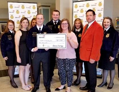 Devon Energy Funds Guthrie FFA Chapter's STEM Program