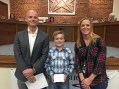 Video: Weston Bohard named Student of the Month