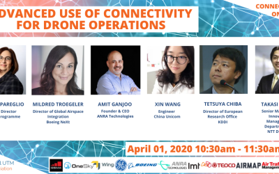 """UTM/U-Space will establish airspace management technologies for all future aircraft operations"" – GUTMA Connected Skies webinar"