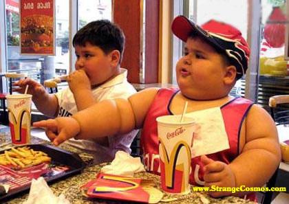 childhood obesity at MacDonalds