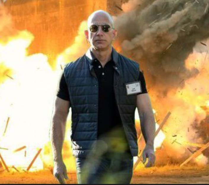 Bezos using tech empire to spearhead Redskins buyout…
