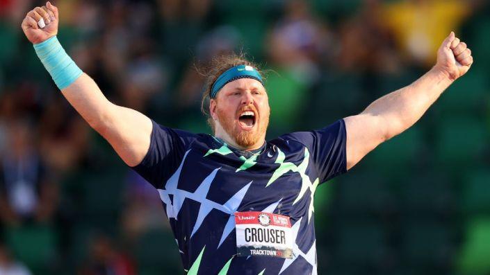 Ryan Crouser obliterates shot put world record…