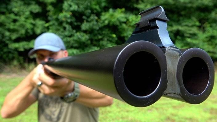 Firing 700 Nitro Express — World's biggest elephant gun…