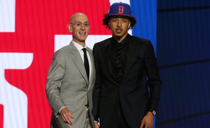 Pistons select Cade Cunningham No. 1 overall in the NBA Draft…